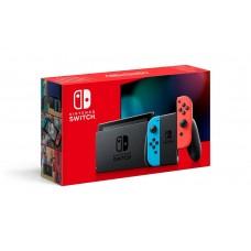 Игровая приставка Nintendo Switch (неоновый красный/неоновый синий) Обновленная версия