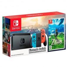 Игровая приставка Nintendo Switch (Color) + Zelda