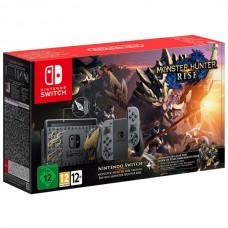Игровая приставка Nintendo Switch Особое издание Monster Hunter: Rise