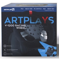 Руль Artplays V-1200 Premium Leather Edition (PS4/PC/Xbox One/Switch)