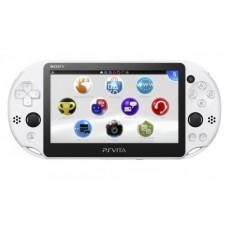 Портативная игровая приставка Sony PlayStation Vita 2000 Slim (Белая)
