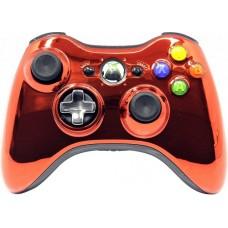 Проводной геймпад Xbox 360 (Chrome Orange)