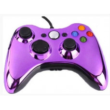 Проводной геймпад Xbox 360 (Chrome Purple)